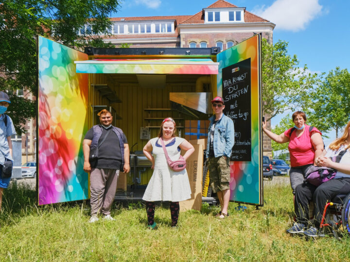 """Ausflug"" im Container: Soziale Manufakturen goes Foodup!"